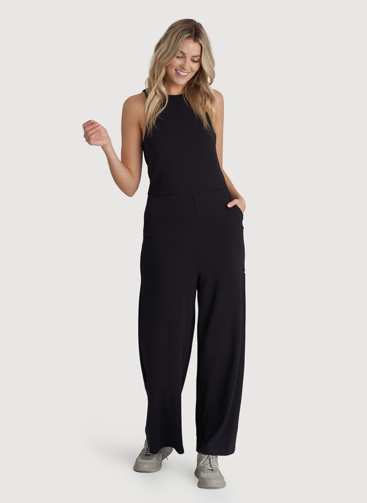 Made to Move Jumpsuit, Black | Kit and Ace