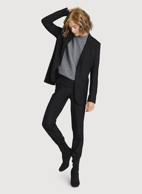 Classic Stretch Blazer, BLACK | Kit and Ace