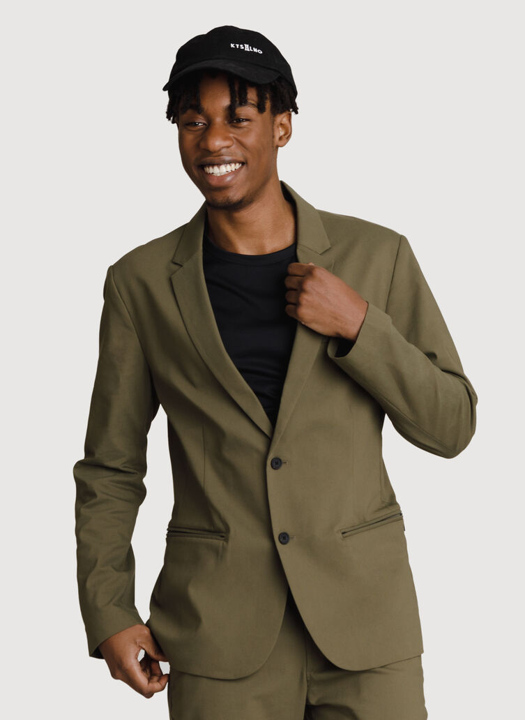 Navigator Stretch Blazer 2.0, ARMY | Kit and Ace