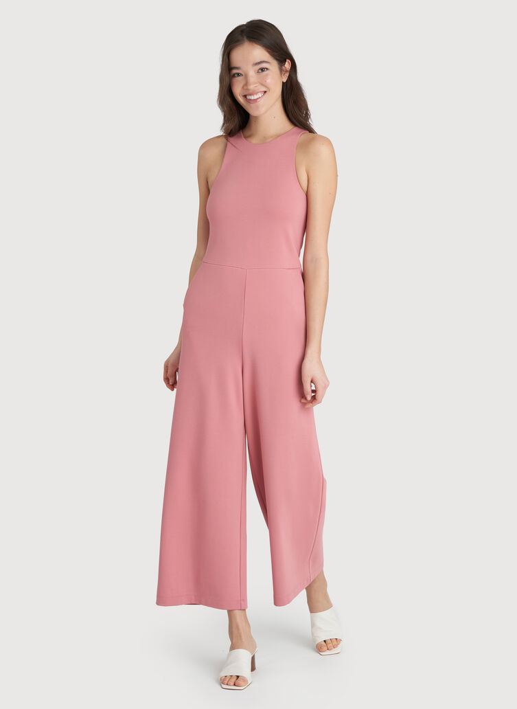 Made to Move Jumpsuit, Dusty Rose | Kit and Ace