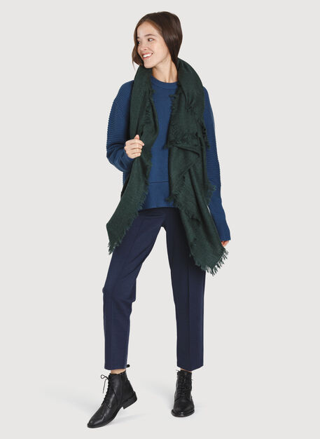 Blanket Scarf, HTHR Deep Forest | Kit and Ace