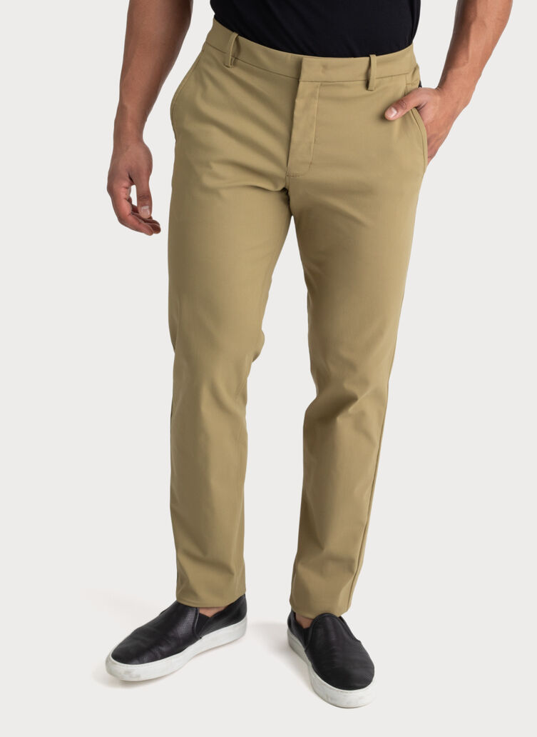 Navigator Stretch Trousers 2.0, Olive Moss | Kit and Ace