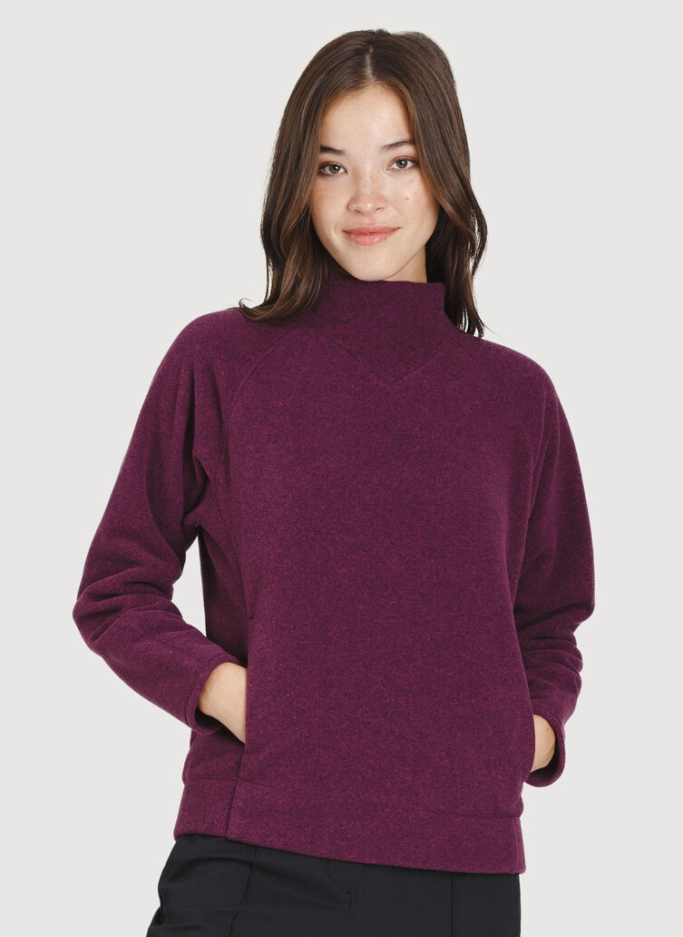 Hygge Pullover, Dark Plum | Kit and Ace