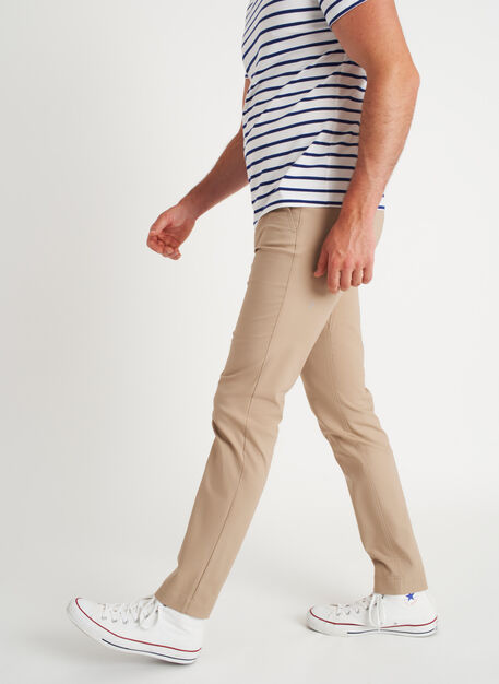 Commute Pants Slim Fit | Navigator Collection, Driftwood | Kit and Ace