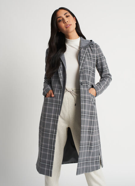 Go To Jacket, PLAID Grey/Charcoal | Kit and Ace
