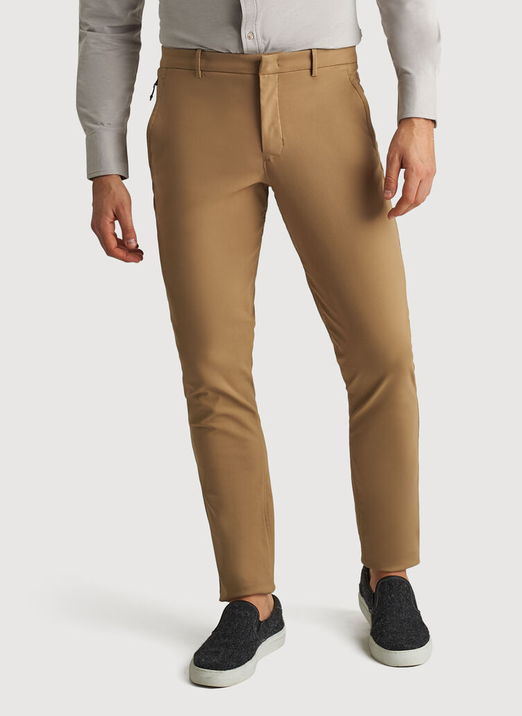 Navigator Commute Pant Slim Fit, Petrified Oak | Kit and Ace