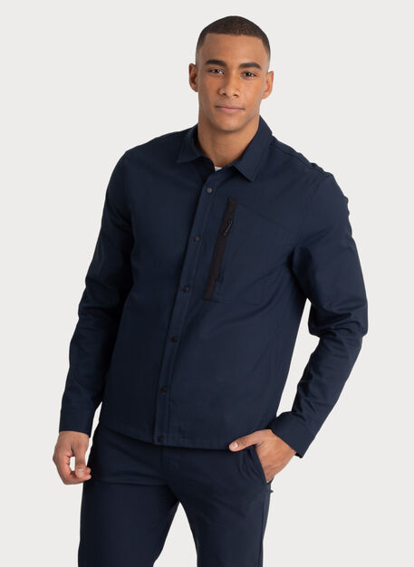 Navigator Stretch Jacket, DK Navy | Kit and Ace