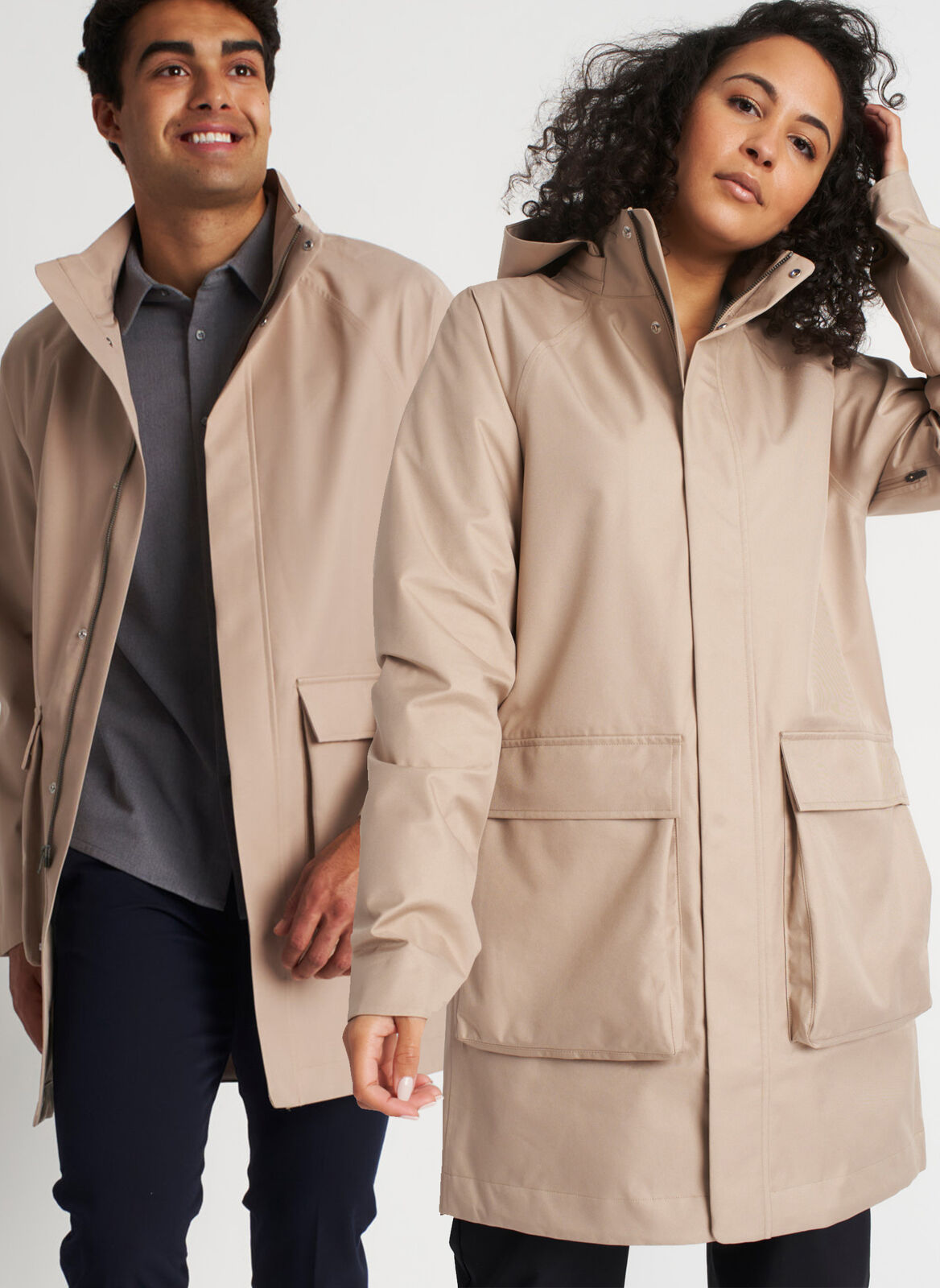 kit & ace gender-neutral raincoat