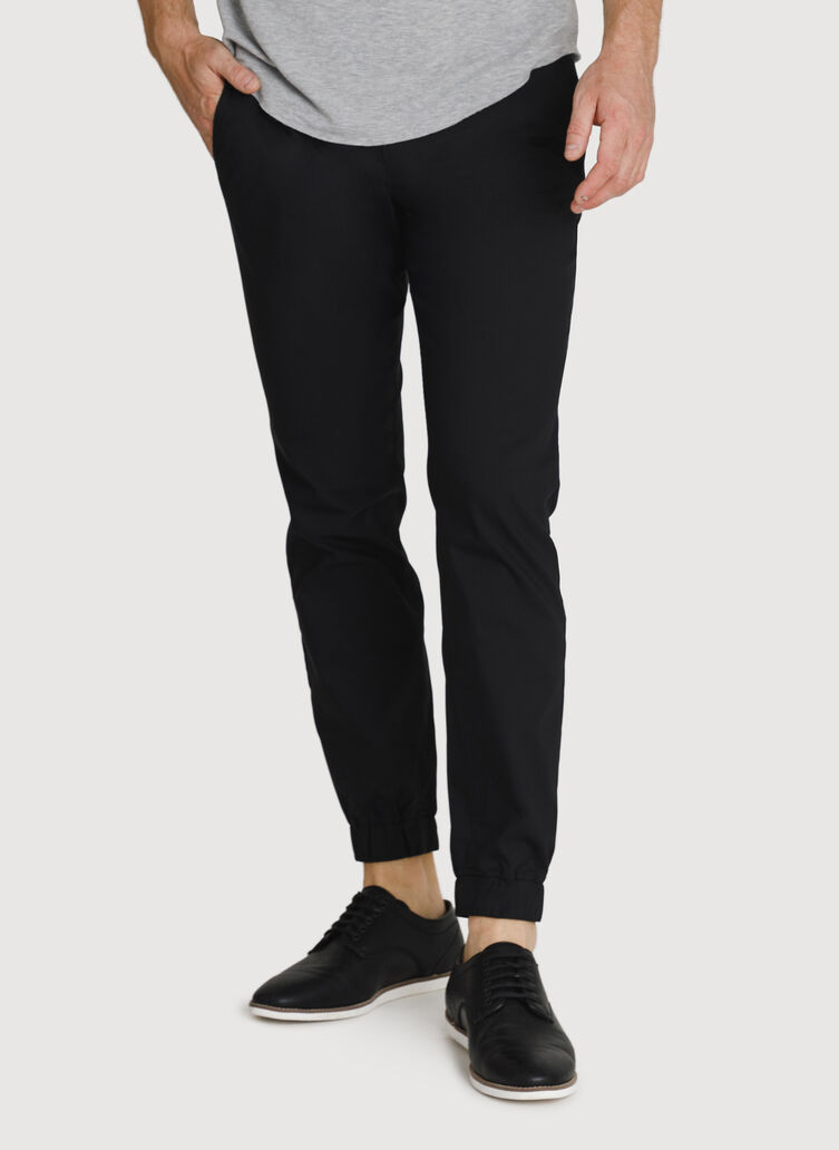Navigator Stretch Joggers 3.0, Black | Kit and Ace