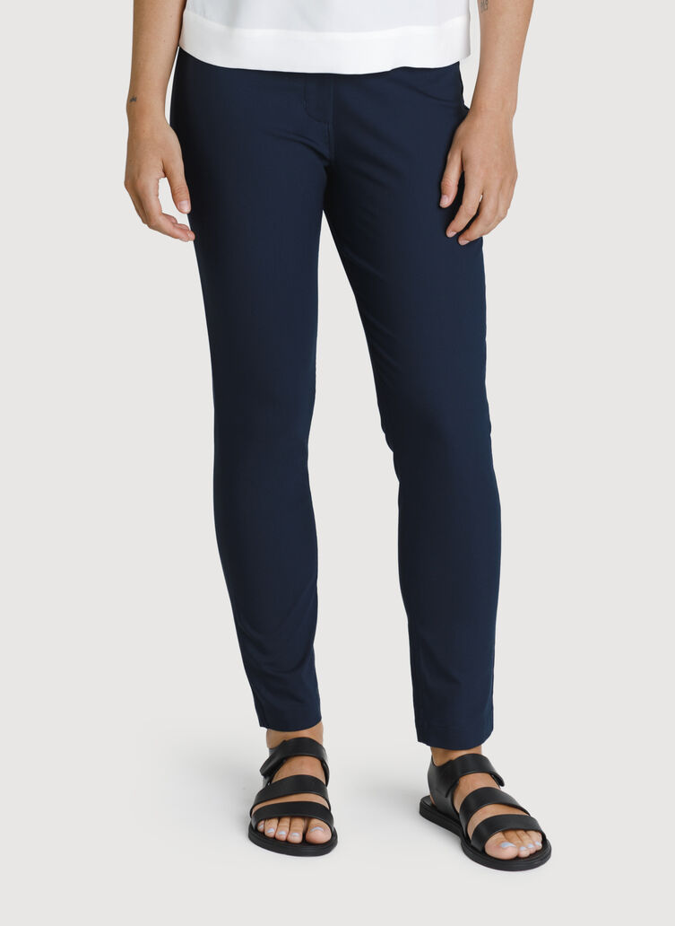 Navigator Ride Ankle Pant Skinny Fit, DK Navy | Kit and Ace