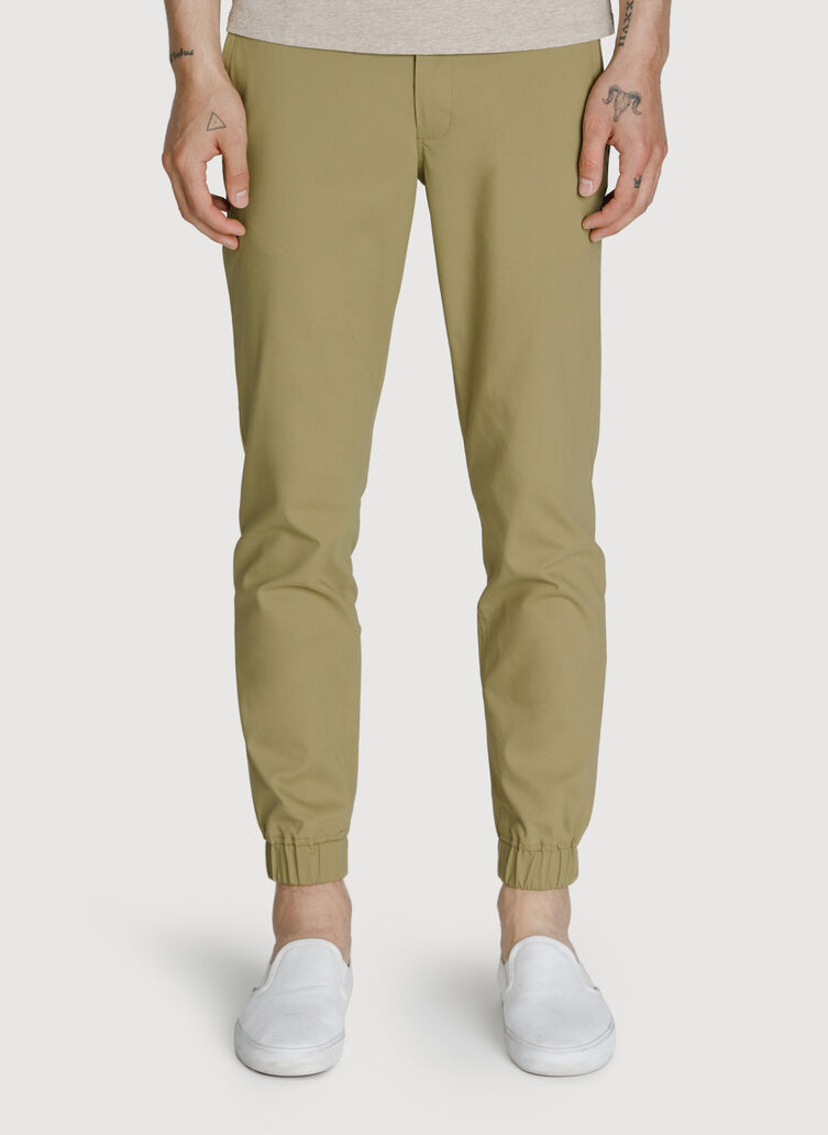 Navigator Stretch Joggers 3.0, Olive Moss | Kit and Ace