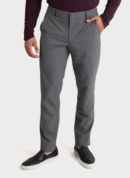 The Main Trouser, HTHR GREY | Kit and Ace