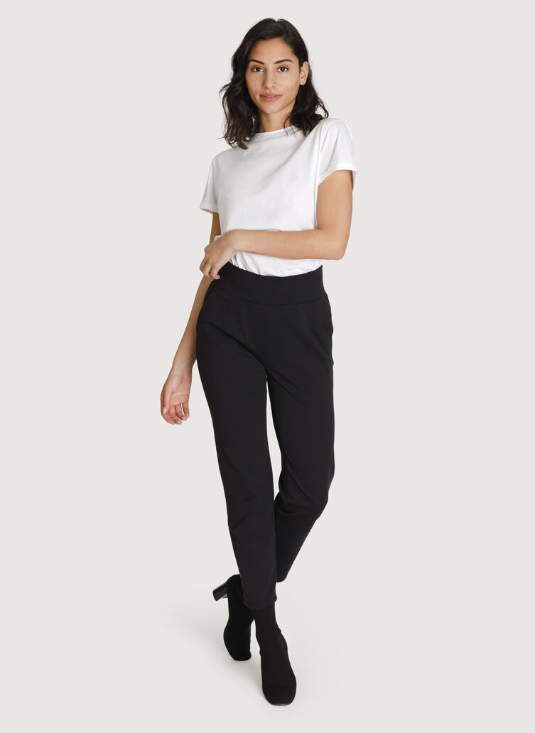 Mulberry Pant *Cashmere, BLACK | Kit and Ace