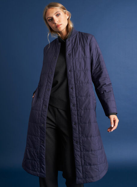 Keep Pedalling Jacket, Dark Navy | Kit and Ace