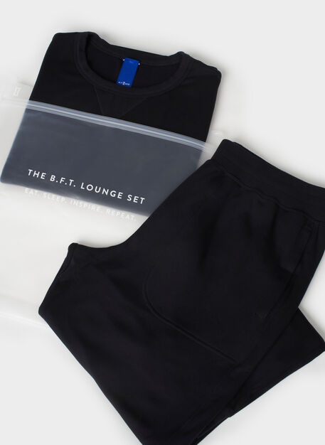 B.F.T. Lounge Set, Black | Kit and Ace