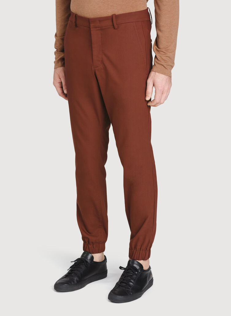 Navigator Commute Jogger Slim Fit, Cherrywood | Kit and Ace