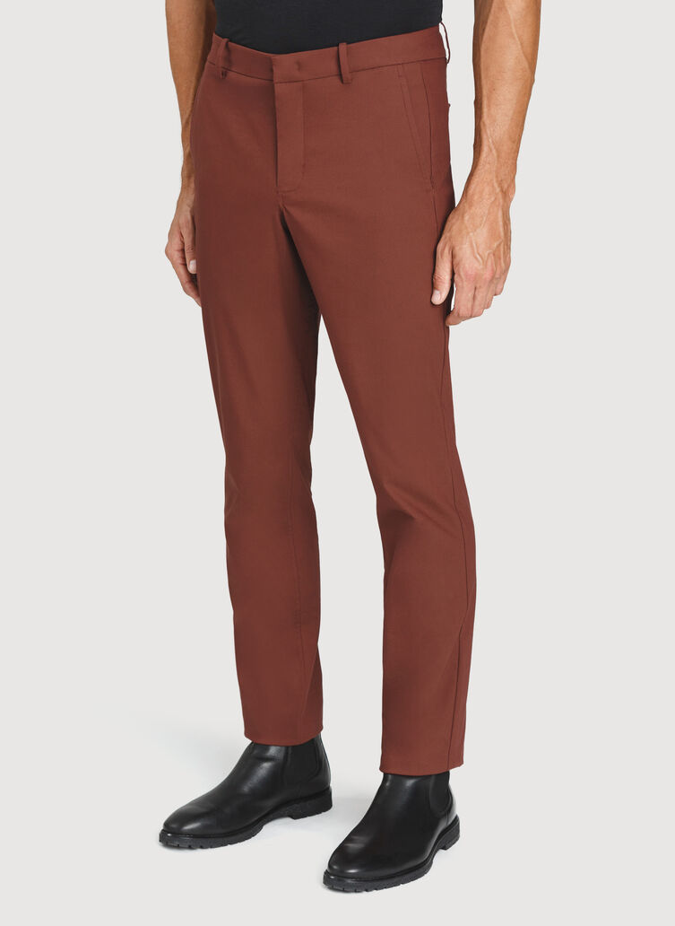 Commute Pants Standard Fit | Navigator Collection, Cherrywood | Kit and Ace