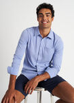 City Tech Classic Shirt, Ocean Chambray | Kit and Ace