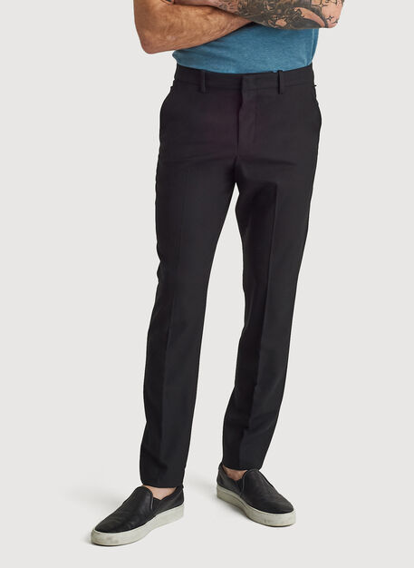 Stretch Suiting Pant, BLACK | Kit and Ace
