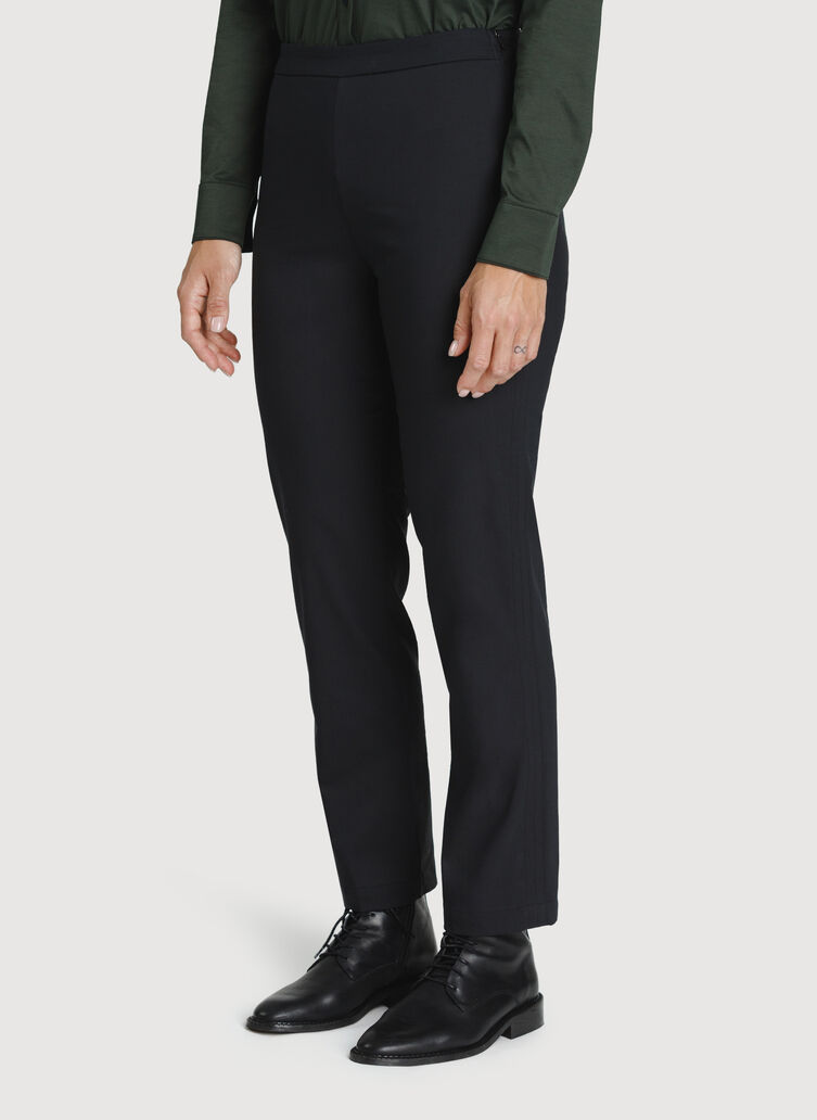 Navigator All Day Ankle Pant, BLACK | Kit and Ace