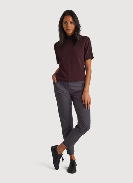 Navigator Ride Ankle Pant Slim Fit, Charcoal   Kit and Ace