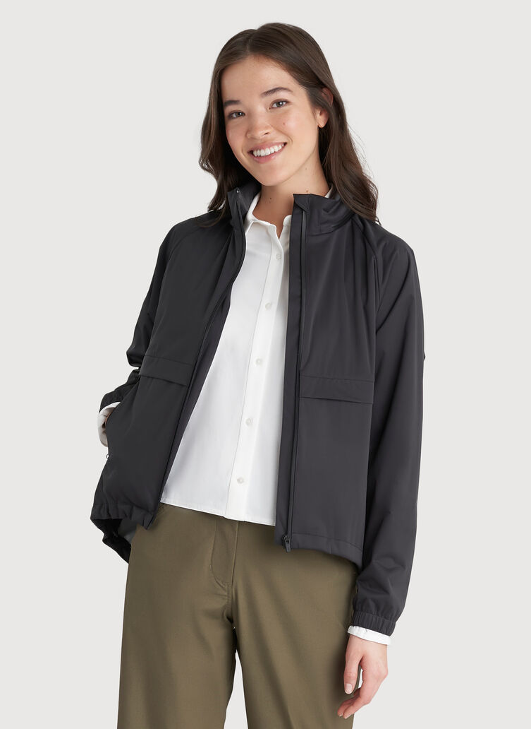 Stow and Go Jacket, KNA Black | Kit and Ace