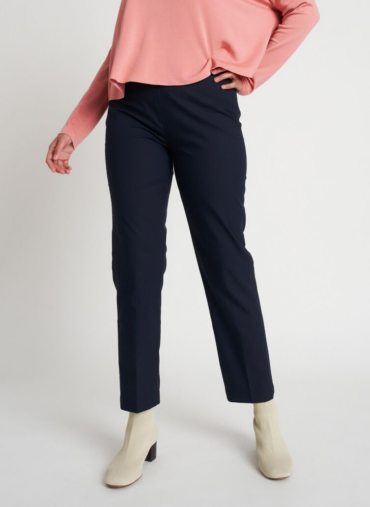 All Day Ankle Pants | Navigator Collection, Dark Navy | Kit and Ace