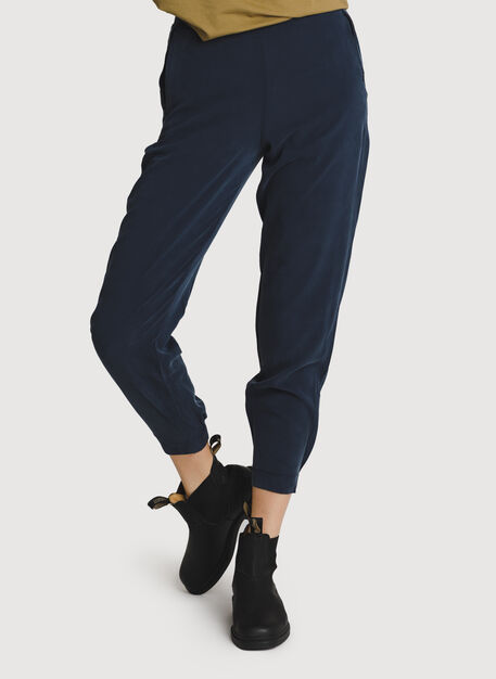 Easy Breezy Stretch Joggers, Dark Navy | Kit and Ace