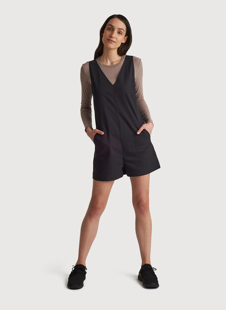 Navigator Move Romper, BLACK | Kit and Ace