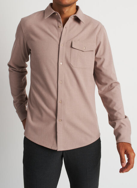 Urban Adventure Shirt, Heather Oat | Kit and Ace