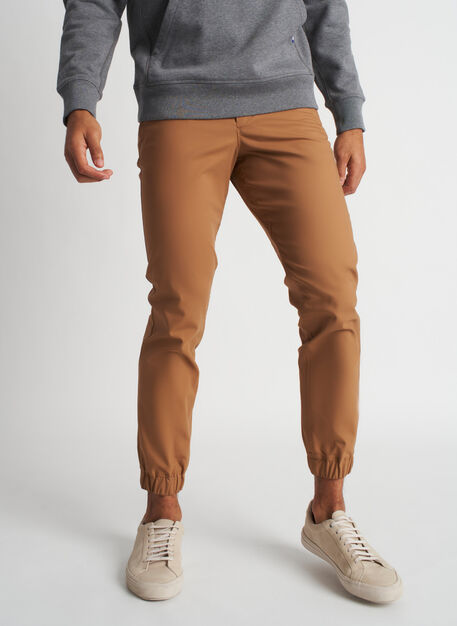 Commute Joggers | Navigator Collection, Toffee | Kit and Ace