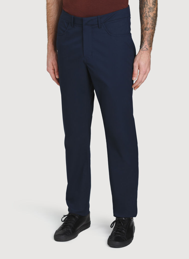 5 Pocket Pant, DARK Navy | Kit and Ace