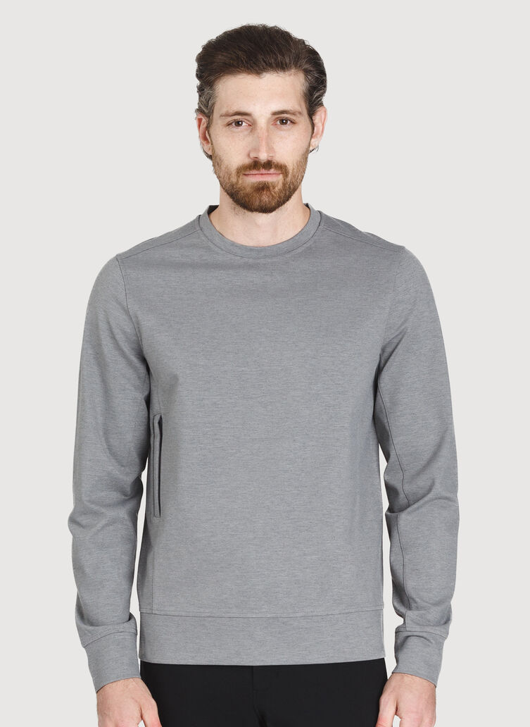 Comfort Pullover, HTHR GREY | Kit and Ace