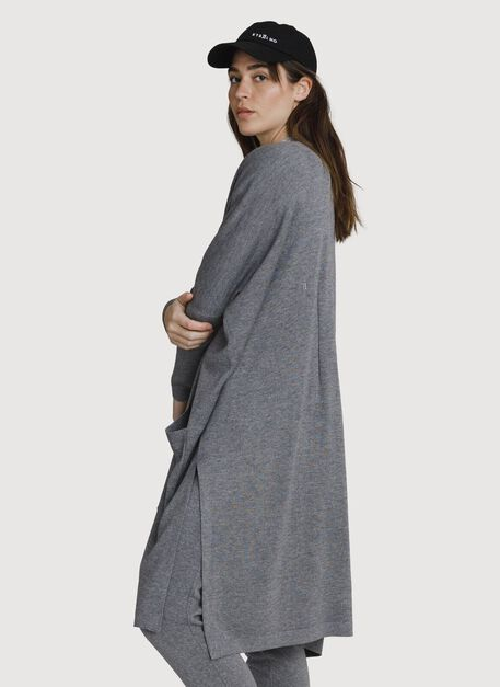 Long Haul Cardigan *Light, HTHR GREY | Kit and Ace