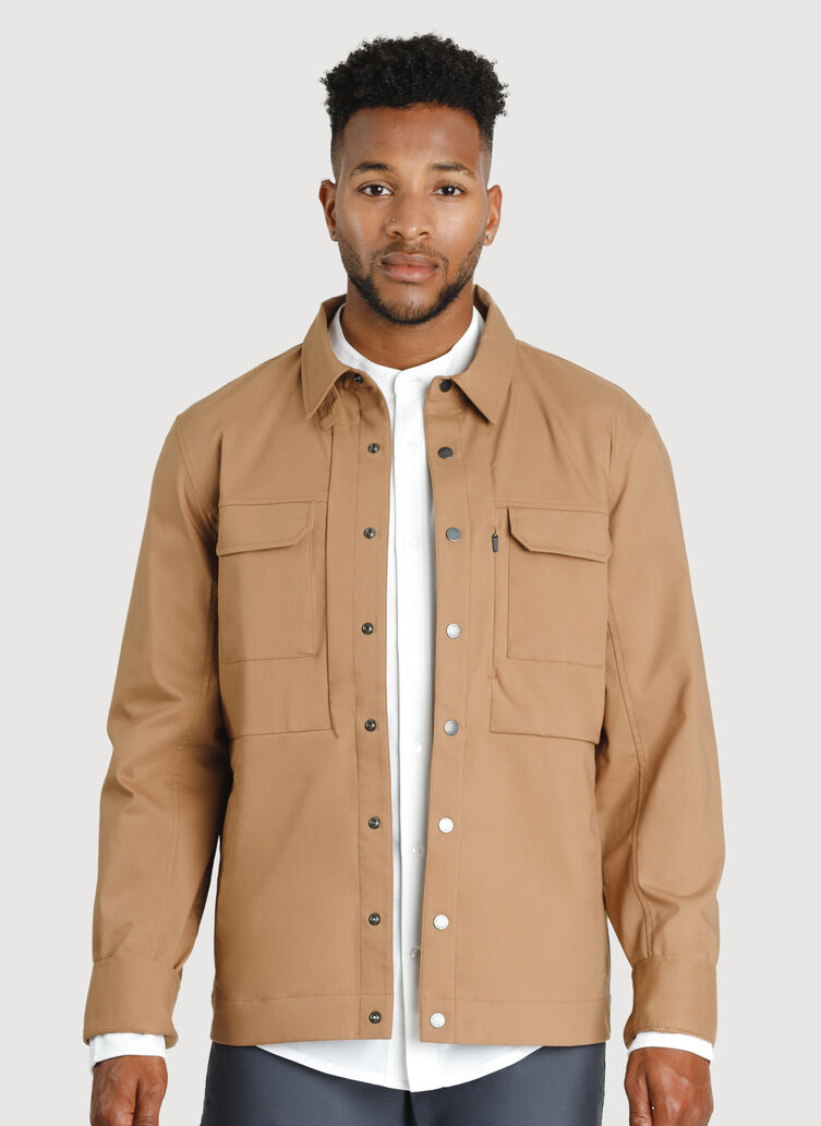Commute Jacket | Navigator Collection, Toffee | Kit and Ace