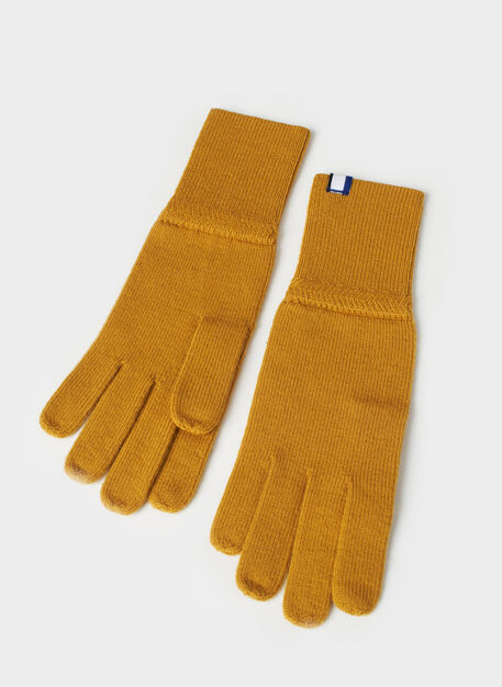 Cozy Merino Gloves, Harvest | Kit and Ace