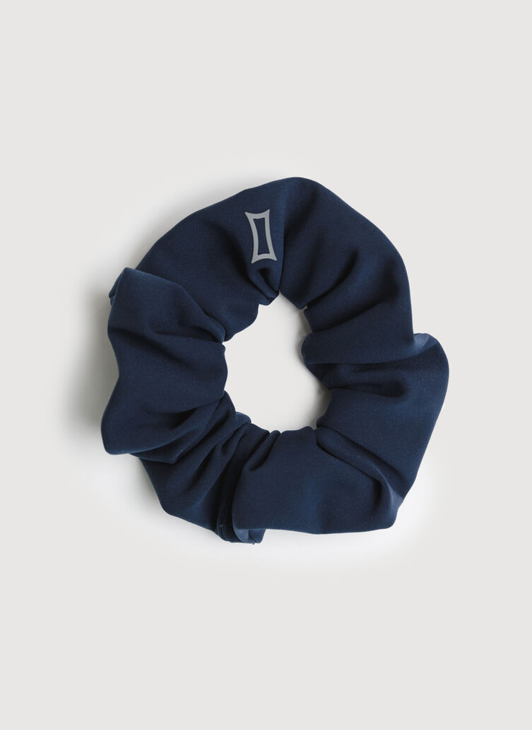 The Office Scrunchie, Dark Navy | Kit and Ace