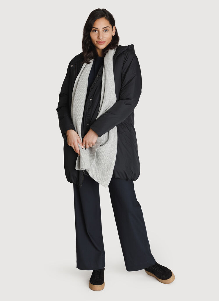 Cashmere Scarf, HTHR Granite | Kit and Ace