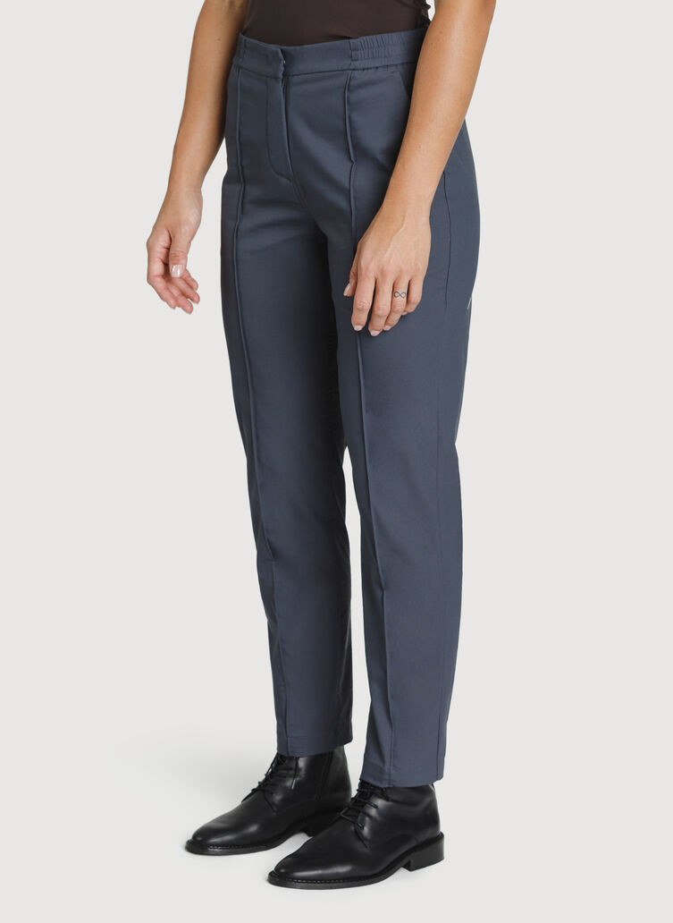 Navigator On The Go Ankle Pant, Cove Grey | Kit and Ace