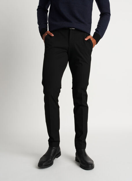Recycled Suiting Trouser, Black | Kit and Ace