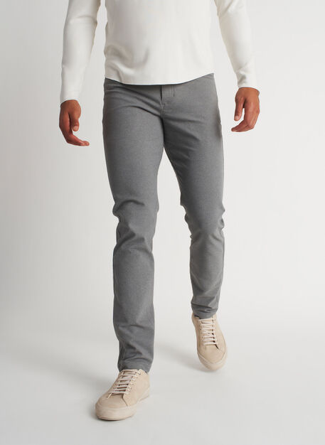 Stride Pants, Heather Grey | Kit and Ace