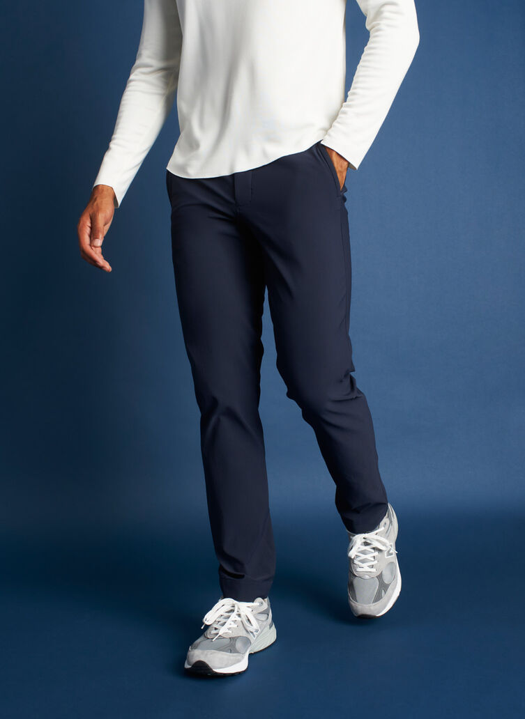 Two Wheeler Pants, Dark Navy | Kit and Ace