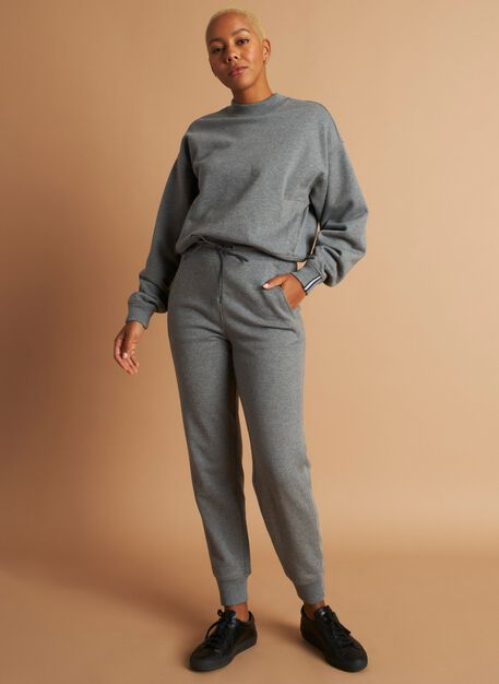 Pacific Coast Sweatpants, Heather Grey | Kit and Ace