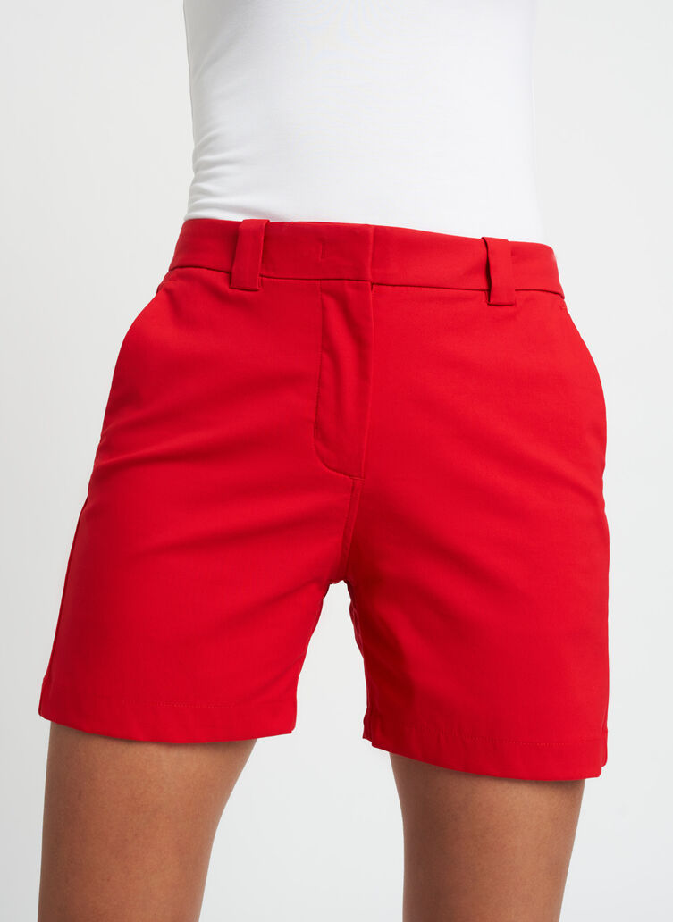 A to B Shorts, Crimson | Kit and Ace