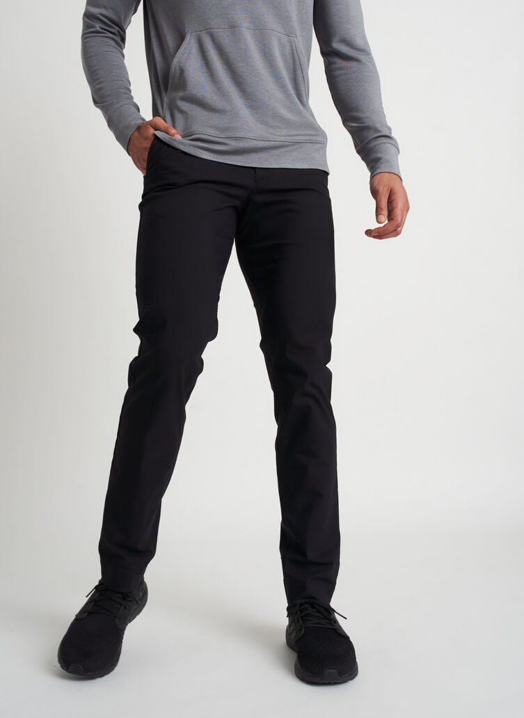 Commute Pants Standard Fit   Navigator Collection, Black   Kit and Ace