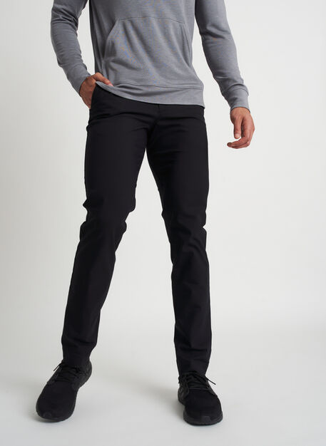 Commute Pants Standard Fit | Navigator Collection, Black | Kit and Ace