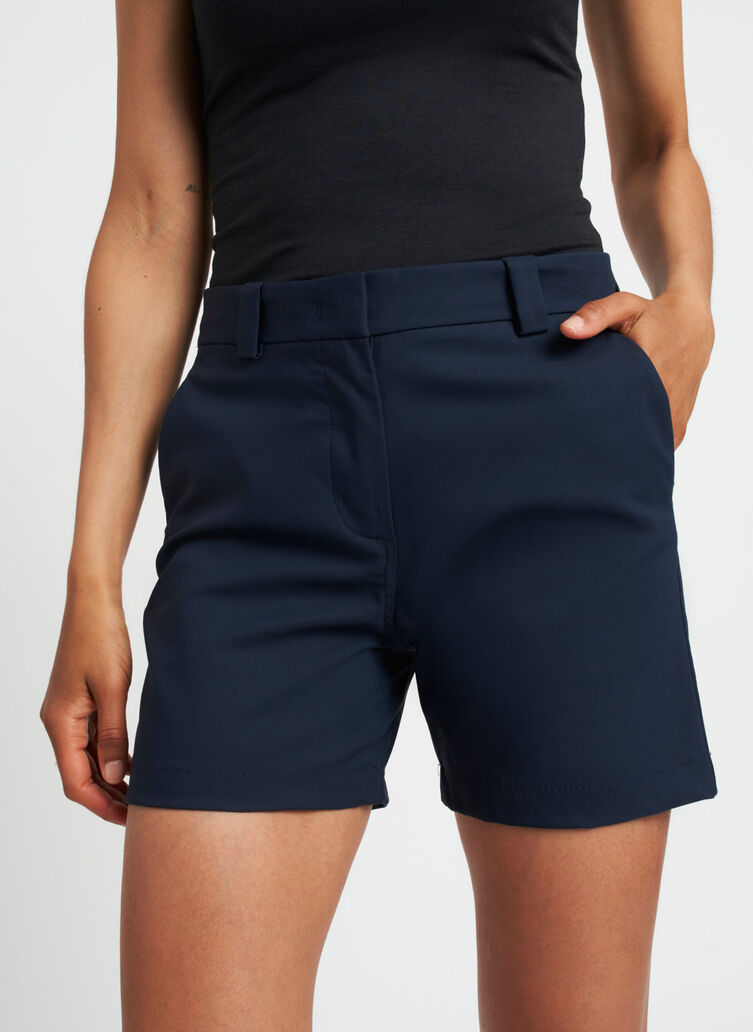 A to B Shorts, Dark Navy | Kit and Ace