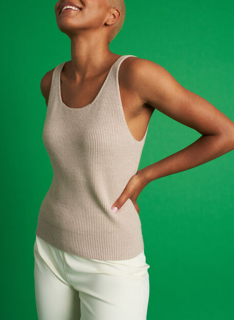 Knit For Now Tank, Desert | Kit and Ace