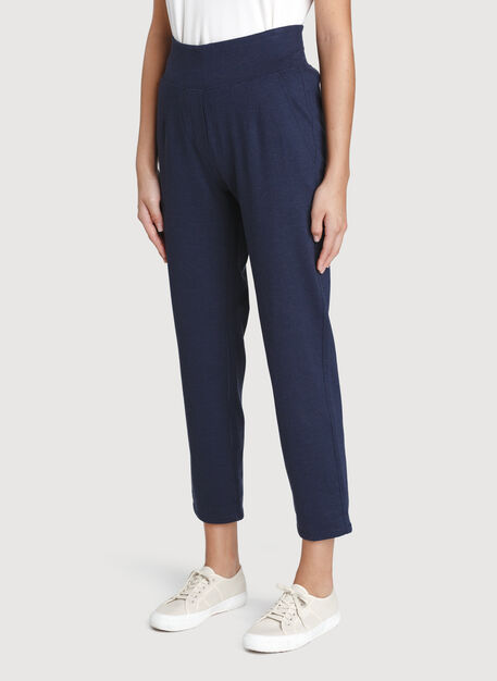 Mulberry Pants, Heather Dark Navy | Kit and Ace