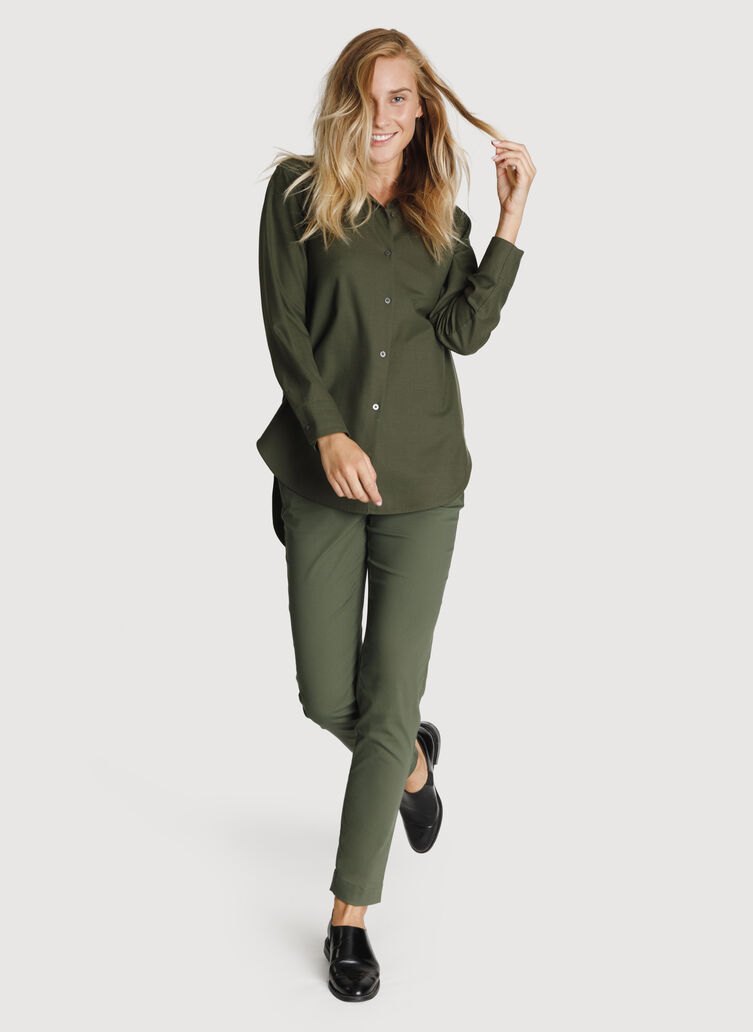 Button Up Blouse, Field | Kit and Ace